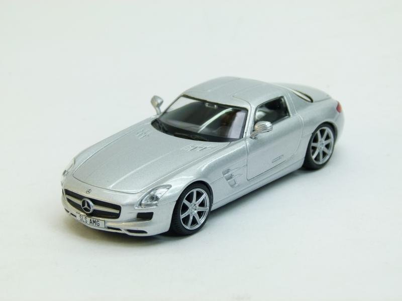 Mercedes SLS AMG (модель + журнал), журнальная серия Суперкары