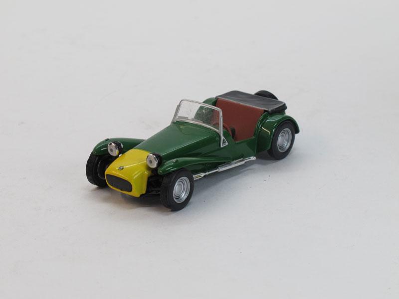 Lotus Seven (модель + журнал), журнальная серия Суперкары