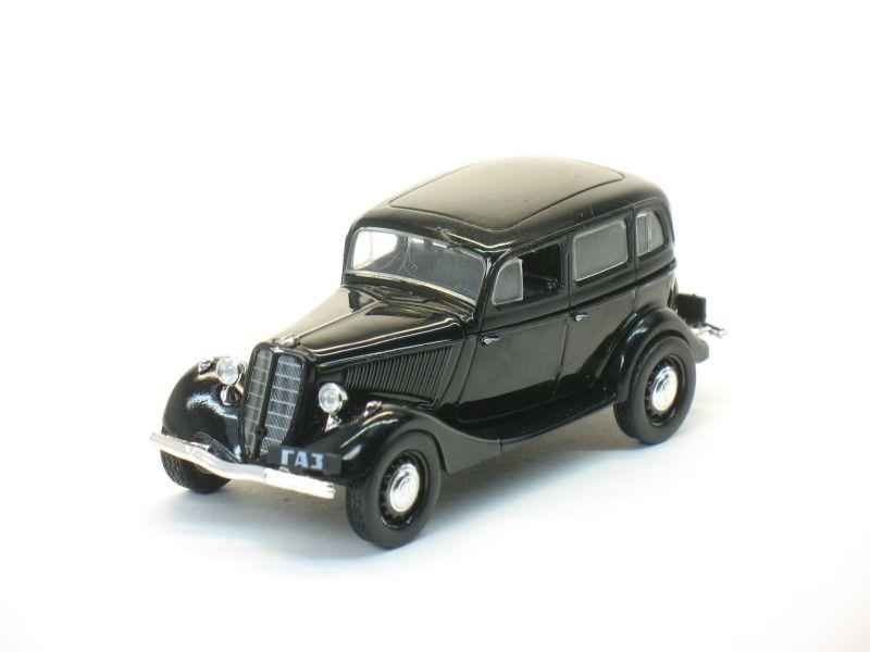 Автолегенды СССР №34, ГАЗ-М1 (черный) (только модель)