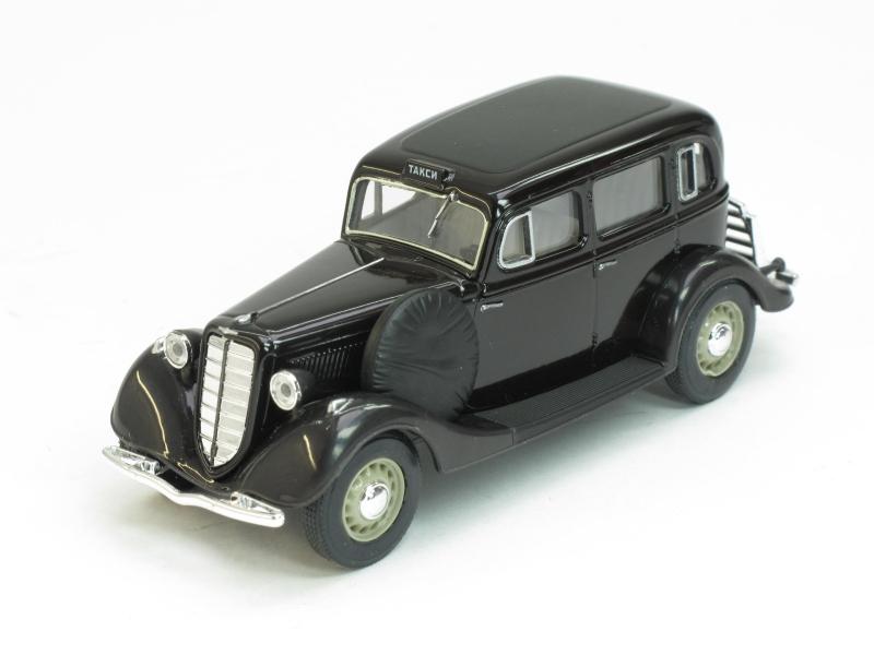 ГАЗ-М1 такси, черный