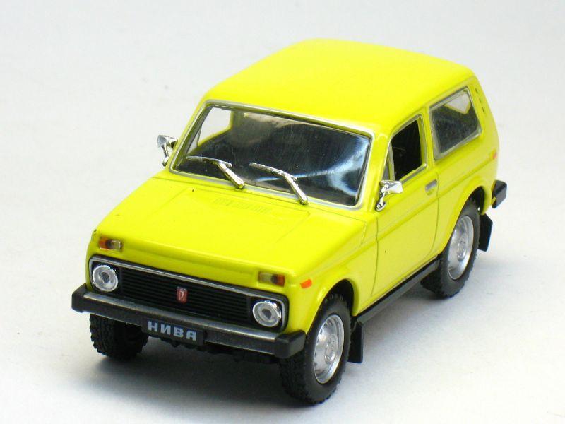 Автолегенды СССР №10, ВАЗ - 2121
