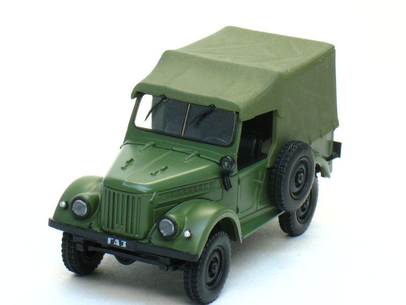 Автолегенды СССР №11, ГАЗ-69 (журнал + модель)