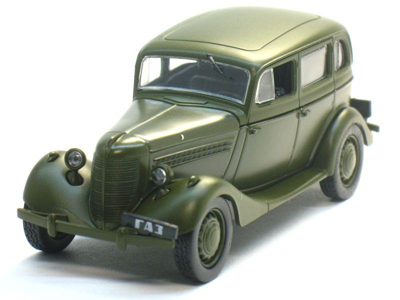 Автолегенды СССР №19, ГАЗ 11-73 (модель+журнал)