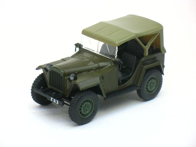 Автолегенды СССР №30, ГАЗ-67Б хаки (журнал + модель)