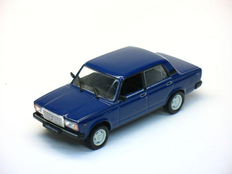 Автолегенды СССР №31, ВАЗ-2107 «Жигули»  (модель+журнал)