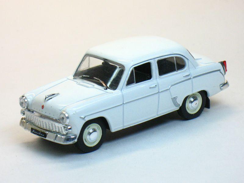 Автолегенды СССР №32, Москвич-403 - белый (журнал + модель)