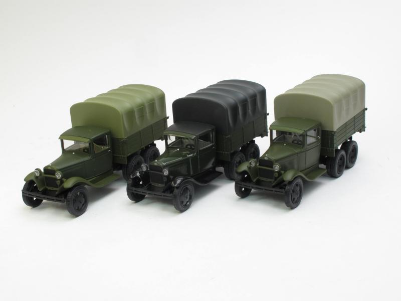 НАП-Комплект №21: ГАЗ-ААА с тентом, три цвета
