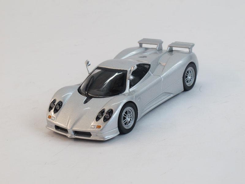 Pagani Zonda C12 S (модель + журнал), журнальная серия Суперкары